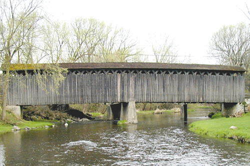 Historic bridge maintained with on-going remediation.
