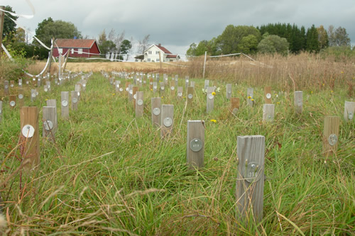 Field stake test method Norway.